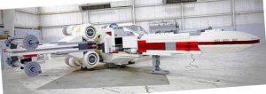 La maqueta construida con piezas de LEGO más grande del mundo. Un modelo a escala real de un caza de Star Wars