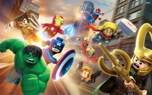 Juegos de construcción de LEGO de la línea de superhéroes Marvel