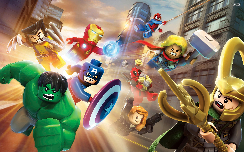 Juegos de construcción del universo Lego Marvel