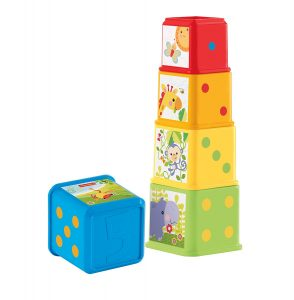 Juego cubos apilables de Fisher Price