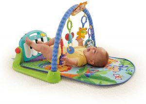 Gimnasio-Piano pataditas de Fisher Price