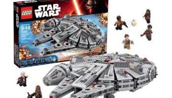Halcón Milenario Lego de Star Wars