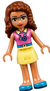 Olivia, uno de los personajes principales de LEGO FRIENDS