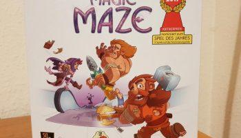MAGIC MAZE un gran juego de mesa cooperativo contra el tiempo