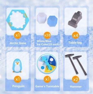 Elementos del juego Penguin Trap
