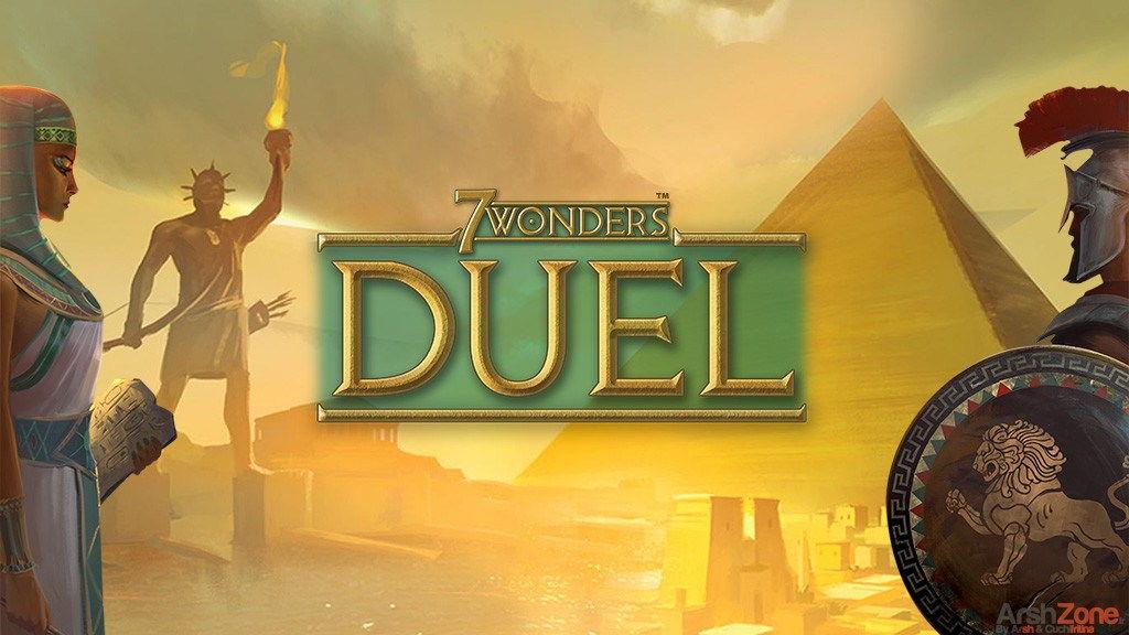juego de mesa estrategia 7 wonders duel