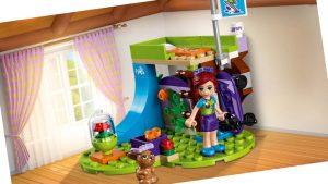 El dormitorio de Mía, de LEGO Friends, 2018