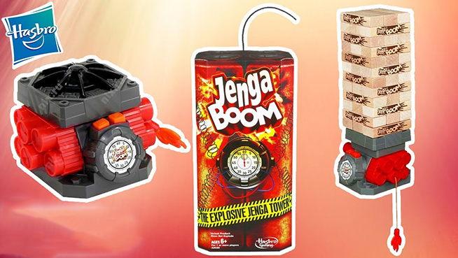 Juego de Mesa Jenga Boom