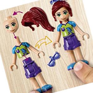 La mini-doll de Mia permite que puedas cambiarle de vestido y de peinado