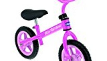 Chicco First Bike – Bicicleta sin pedales con sillín regulable, color rosa, 2-5 años [OFERTAS]