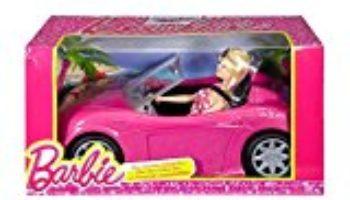 Barbie – Convertible y la muñeca paquete (Mattel DJR55) [OFERTAS]