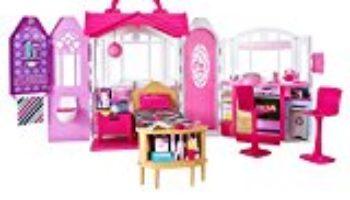 Barbie – Casa de vacaciones portátil (Mattel CHF54) [OFERTAS]