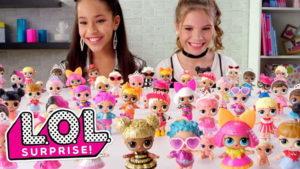 lol surprise muñecas