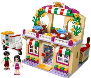 La pizzeeria de Heartlake de Lego Friends