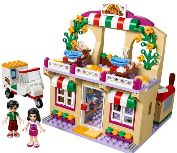 La pizzeeria de Heartlake de Lego Friends