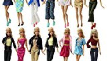 ZITA ELEMENT Lote 10 conjunto de estilo de mezcla de moda Hecho a mano ropa Outfit + 10 pares de zapatos para Barbie Doll XMAS regalo [OFERTAS]