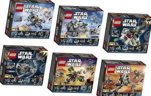 LEGO Star Wars microfighters: el regalo ideal para quedar bien en un cumpleaños gastando menos de 10 euros