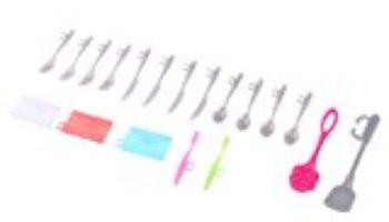 MagiDeal 1/6 Accesorios de Moda para Barbie Muñeca Juguetes para Niños – 19pcs Cookware [OFERTA FINALIZADA]