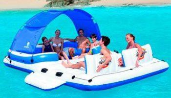 Flotador gigante para 6 personas