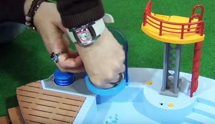 ducha de piscina playmobil
