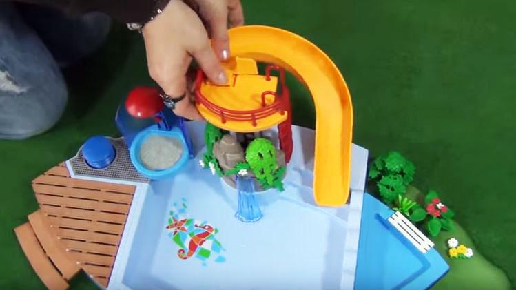 tobogan playmobil