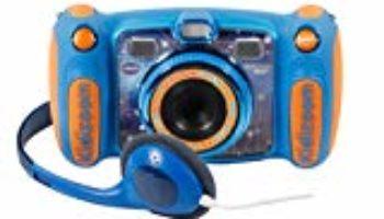 VTech – Kidizoom DUO 5.0 azul, cámara de fotos digital, infantil con 5 megapíxeles, pantalla a color, 10 funciones diferentes, 2 objetivos (3480-507122) [OFERTAS]
