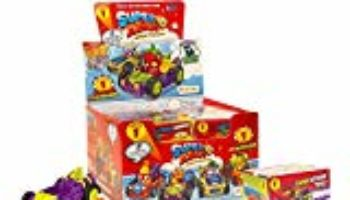 Superzings – Rivals of Kaboom Caja de figuras (Magic Box Int Toys SZ1P0302) [CHOLLO]