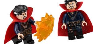 Minifigura Lego del Dr. Strange