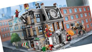 Duelo en el Sancta Santorum: el set de Lego Avengers Infinity War con más piezas