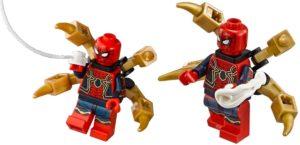 Iron Spider es una armadura exoesqueleto diseñada por Tony Stark para Spiderman