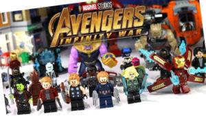 Lego Avengers Infinity War: subtema de juegos de construcción de Lego ambientada en el universo Marvel