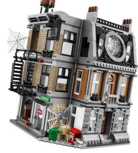 Lego Superheroes Marvel. Infinity War. Duelo en el Sancta Santorum