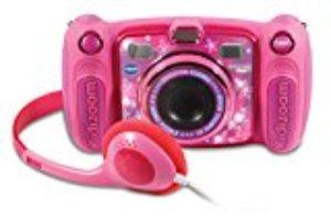 VTech – Kidizoom DUO 5.0 rosa, cámara de fotos digital, infantil con 5 megapíxeles, pantalla a color, 10 funciones diferentes, 2 objetivos (3480-507157) [OFERTAS]