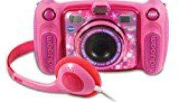 VTech – Kidizoom DUO 5.0 rosa, cámara de fotos digital, infantil con 5 megapíxeles, pantalla a color, 10 funciones diferentes, 2 objetivos (3480-507157) [CHOLLO]