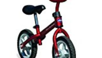 Chicco First Bike – Bicicleta sin pedales con sillín regulable, color rojo [OFERTAS]