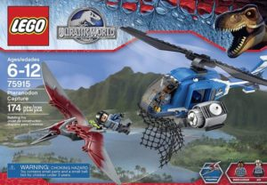 JURASSIC WORLD PTERANODON CAPTURE DINOSAURIO LEGO