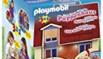 Playmobil – Casa de muñecas en forma de maletín, set de juego (5167) [OFERTAS]
