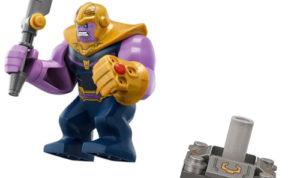 minifigura Lego de Thanos, set Lego Avengers Infinity War