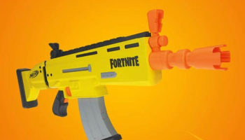Pistolas NERF de Fortnite