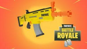 Pistola de Fortnite NERF