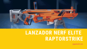 lanzadera nerf elite raptorstrike