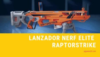 Lanzador Nerf elite Raptorstrike
