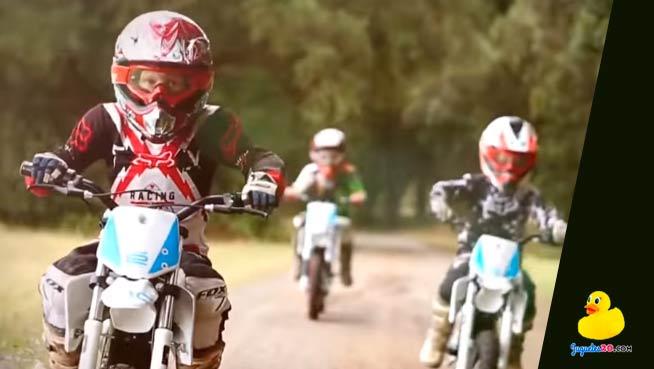 moto enduro infantil electrica para niños