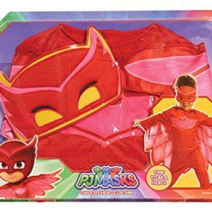 PJ Masks Disfraces, Color Rojo, 4-6 años (Bandai 24602) [OFERTAS]