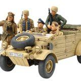 1941 Deutscher Kübelwagen T82 [Tamiya 35304] Ramcke Parachute Brigade, 1:35 Kit de Plástico [OFERTAS]