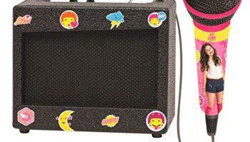 Soy Luna – Altavoz karaoke Disney con micrófono, niña (Lexibook K900SL) [OFERTAS]