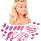 Bayer Design – Busto de muñeca con maquillaje y accesorios (90005C) [OFERTAS]