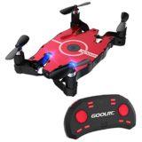 GoolRC T49 Drone RTF Mini drone 6 ejes Gyro WIFI FPV con 720P HD cámara Quadcopter RC Selfie drone de bolsillo [OFERTAS]