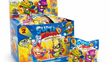 Superzings – Onepack Serie 2 Caja con 50 Figuras, (Magic Box INT. Toys PSZ2D850IN00) [CHOLLO]