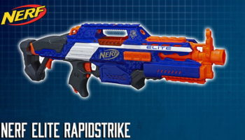 Nerf Elite Rapidstrike CS-18 | Review 2019